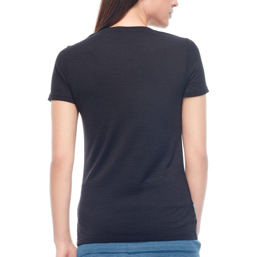 Bild von Icebreaker Tech Lite Low Crewe Damen T-Shirt - Gritstone HTHR