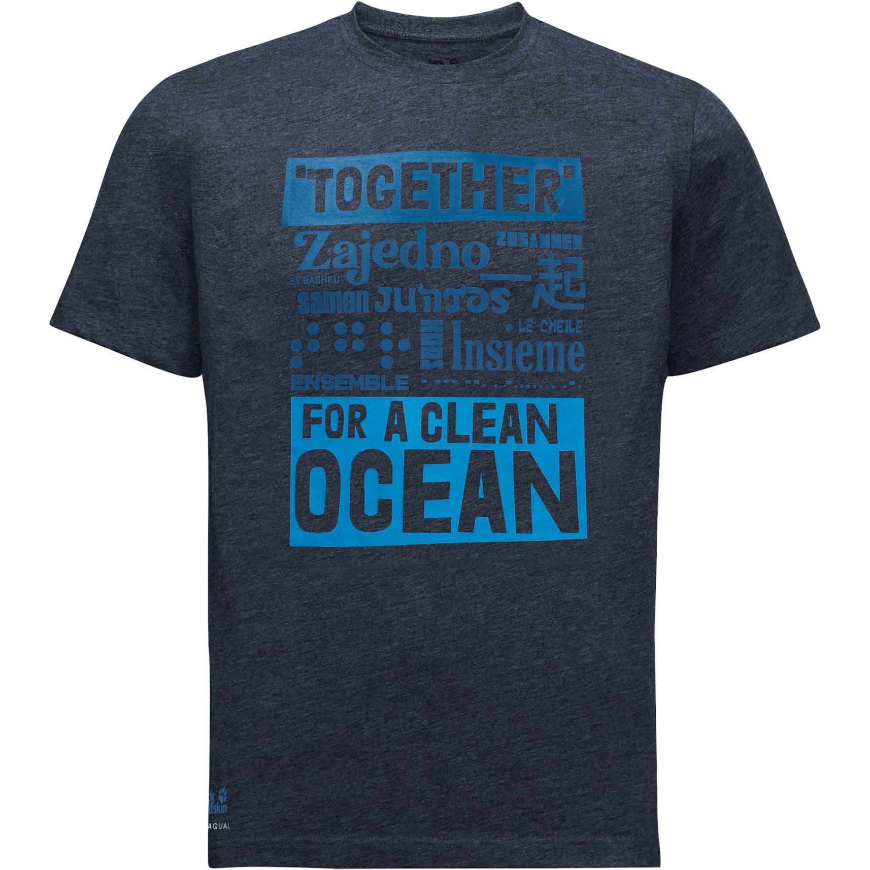 Jack Wolfskin Sea Ground T-Shirt - night blue