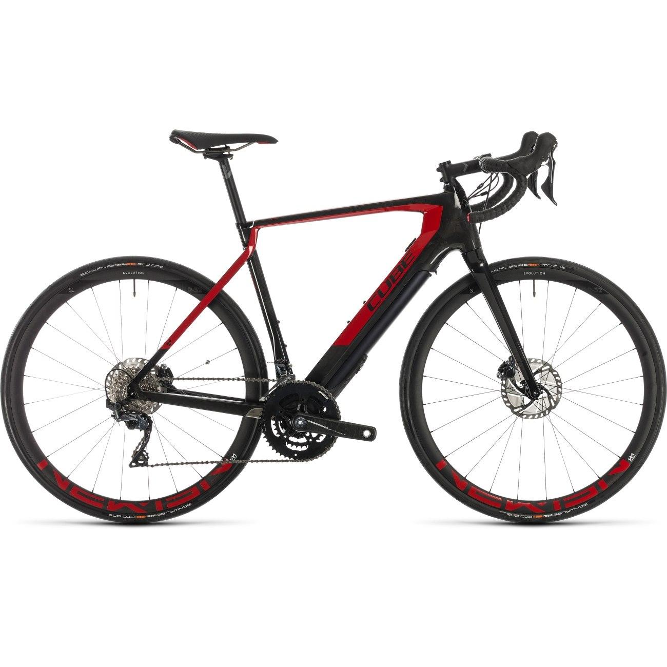 Produktbild von CUBE AGREE HYBRID C:62 SL - Carbon Rennrad E-Bike - 2020 - carbon/red