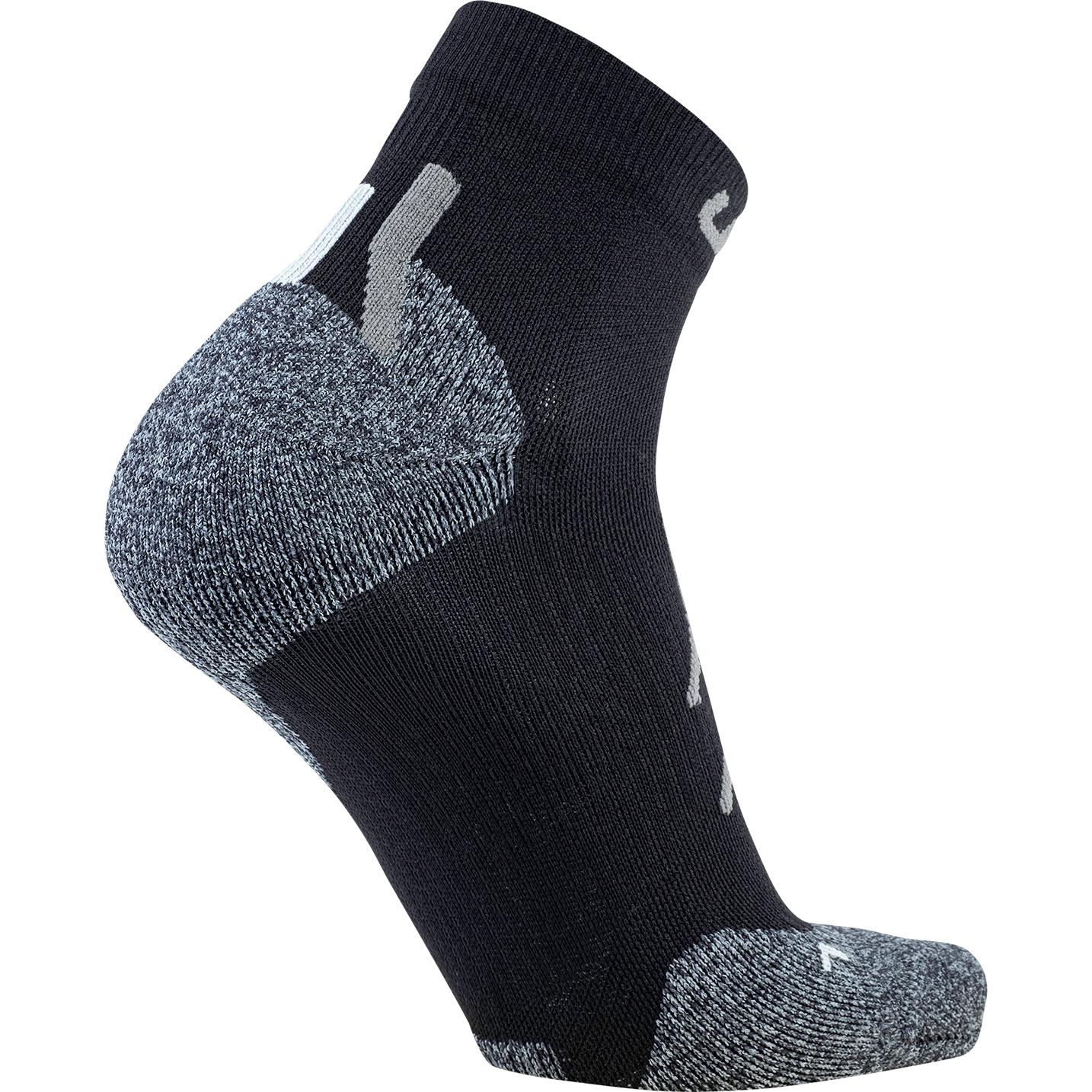 Bild von UYN Herren Trekking Approach Low Cut Socken - Black/Grey