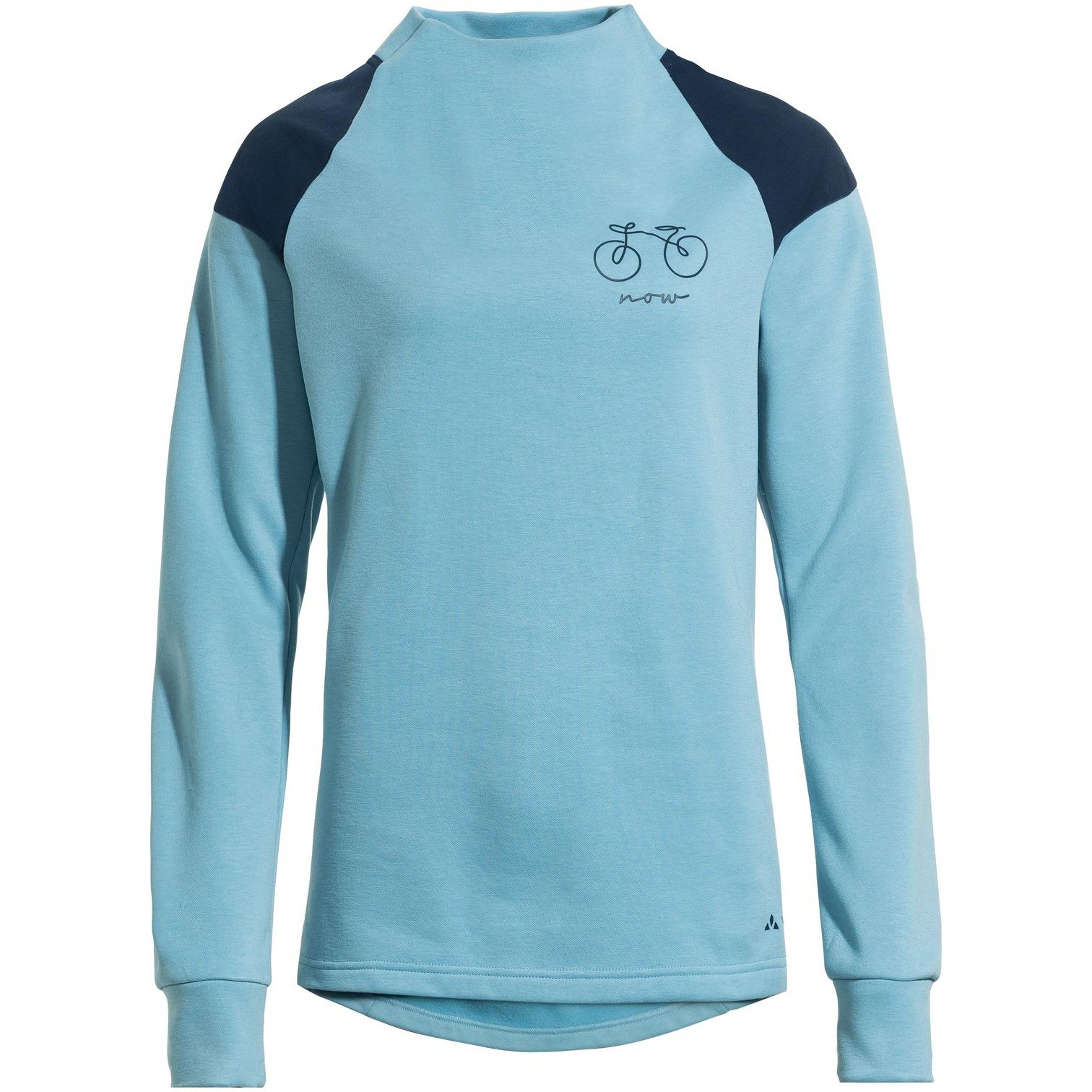 Vaude Women's Cyclist Sweater - dolphin