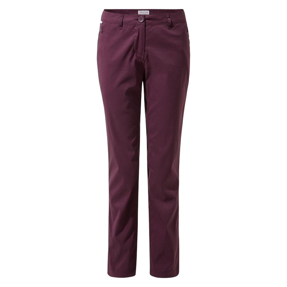 Craghoppers Kiwi Pro II Women's Trouser - Potent Plum