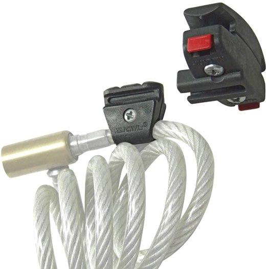 KLICKfix Satteladapter für Seilschlösser / Kabelschlösser 0500