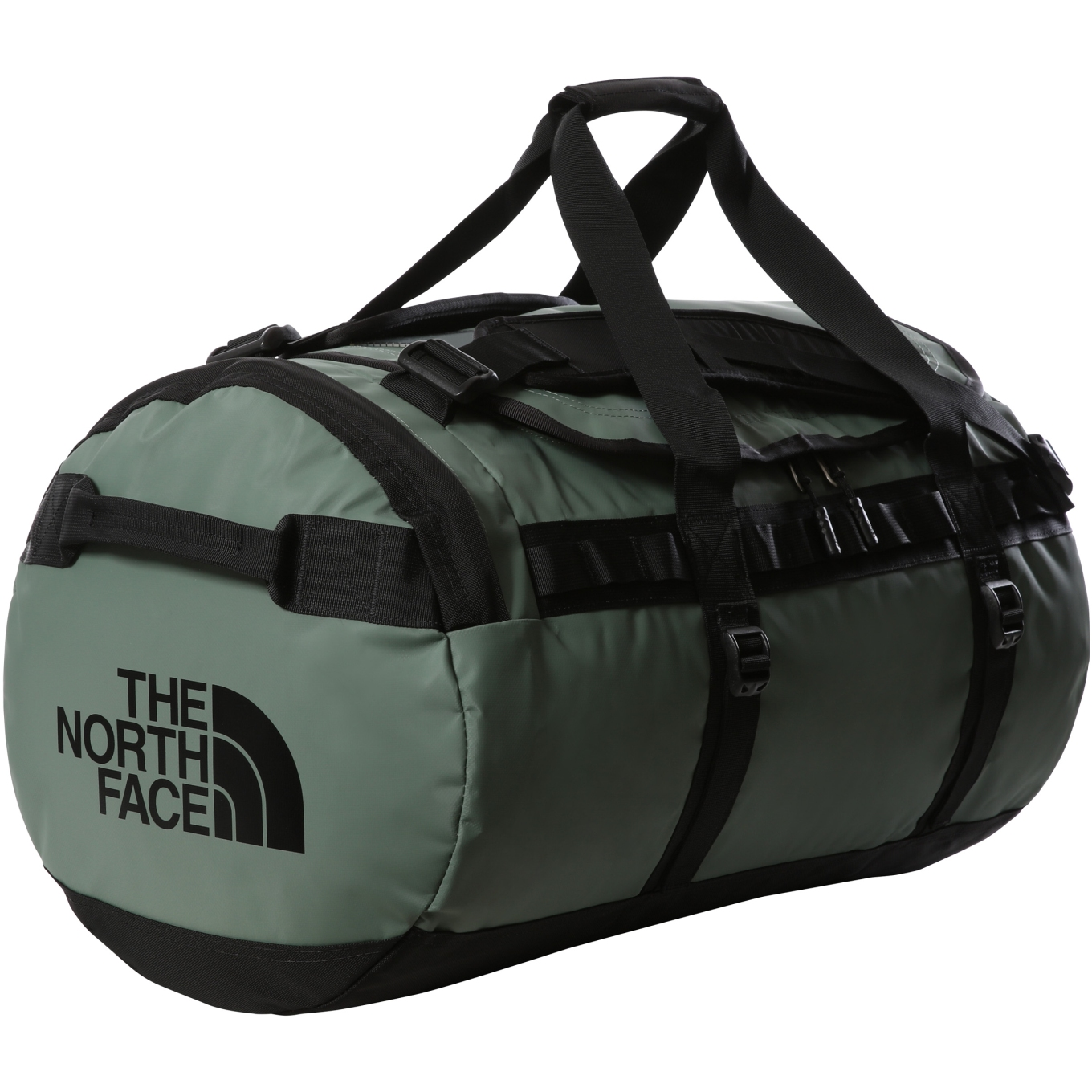 Picture of The North Face Base Camp Duffel - M - Laurel Wreath Green/TNF Black
