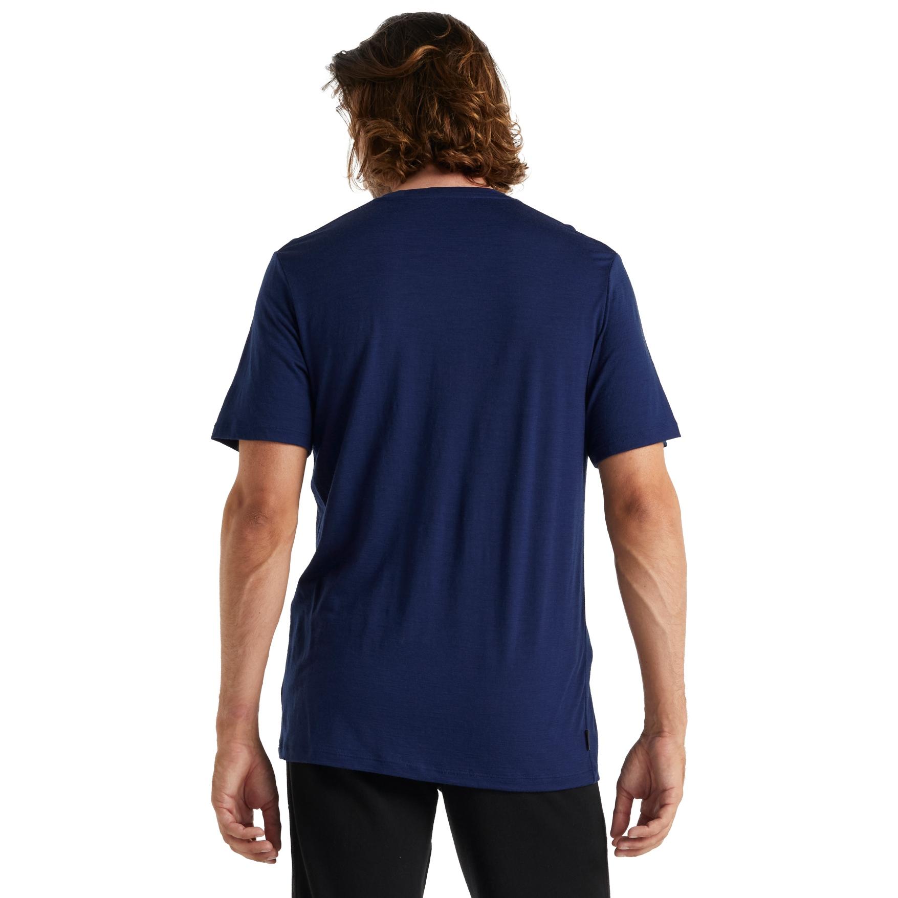 Bild von Icebreaker Tech Lite II Move to Natural Mountain Herren T-Shirt - Royal Navy