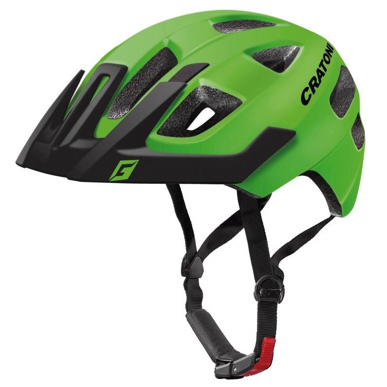 CRATONI Maxster Pro Kids Helmet - lime-black matt