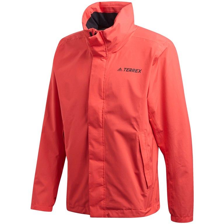 adidas Men's TERREX AX Rain Jacket - glory red FL7031
