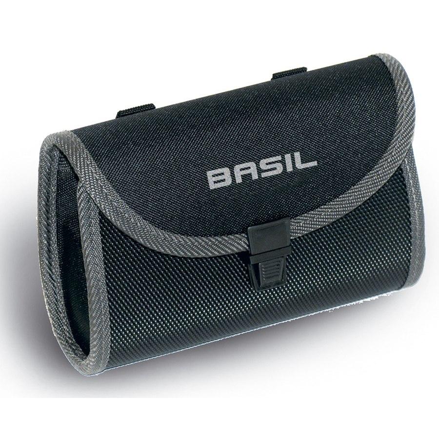Basil Madi Saddle Bag - black