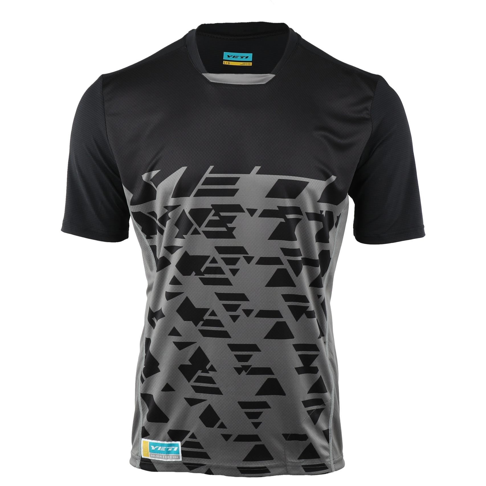 Yeti Cycles Enduro Short Sleeve Jersey - Black