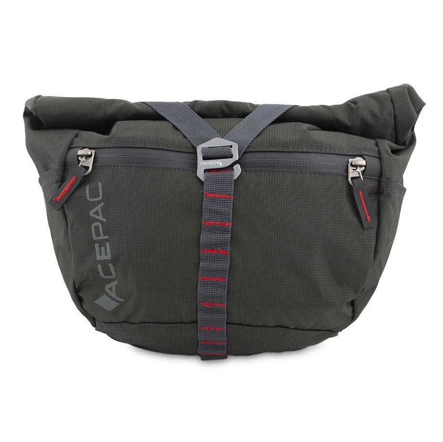 Acepac Bar Bag Handlebar Bag - grey