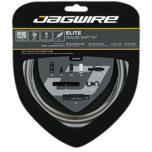 Jagwire Road & Mountain 2X Elite Sealed Shift - Schaltzugset