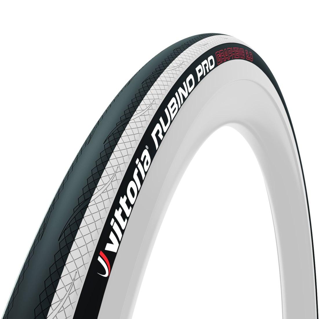 Vittoria Rubino Pro G2.0 Faltreifen - schwarz / weiß - ETRTO 25-622