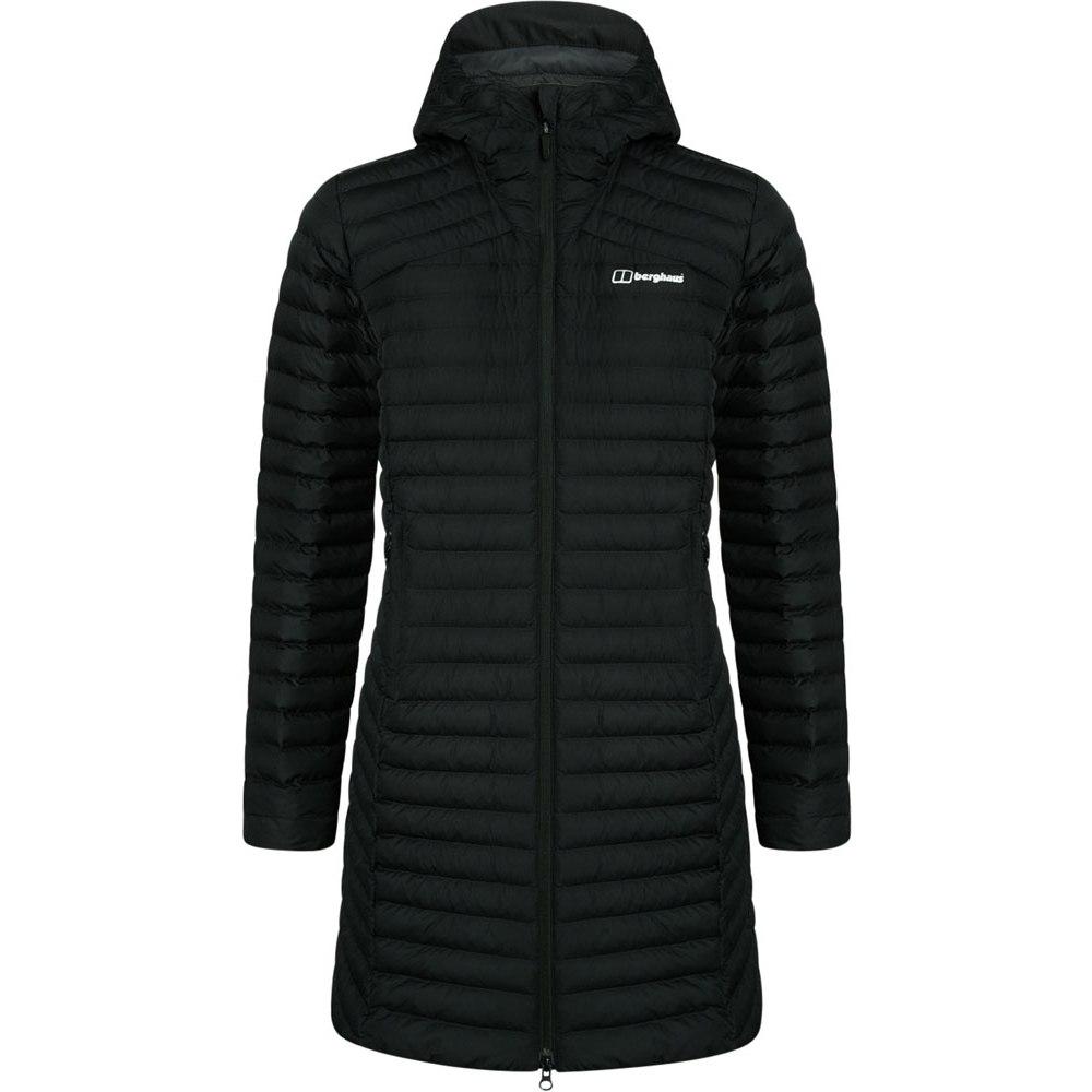Berghaus Women's Nula Micro Long Insulated Jacket - Jet Black BP6