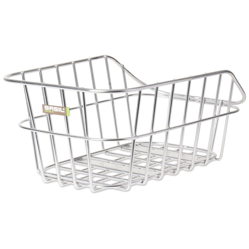 Basil Cento Alu Bike Basket - aluminum
