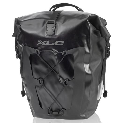 XLC BA-W38 Single Pannier Set - black