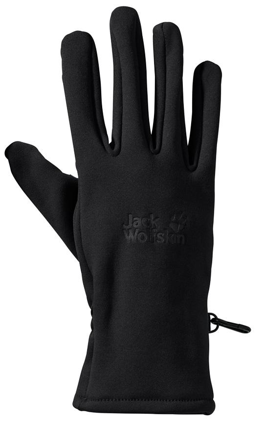 Jack Wolfskin Crossing Peak Handschuhe 1909071 - schwarz