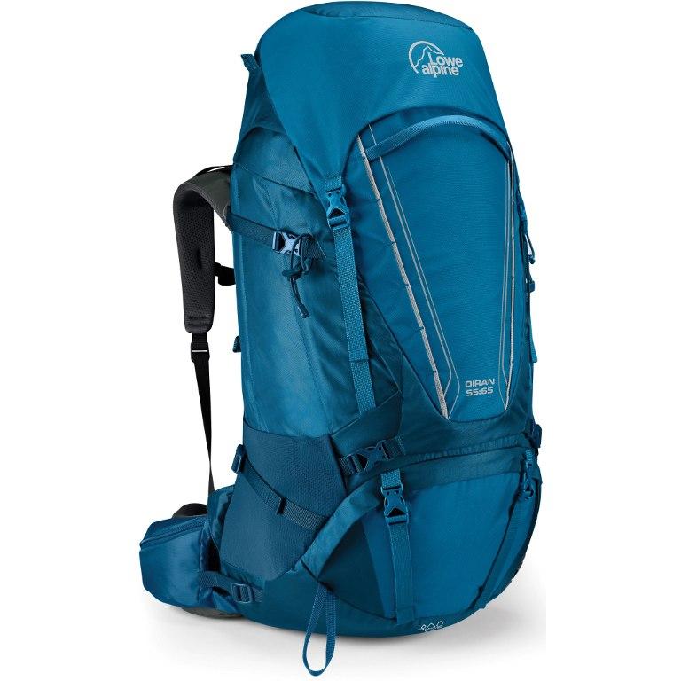 Lowe Alpine Diran 55:65 Backpack Large - Monaco/Azure