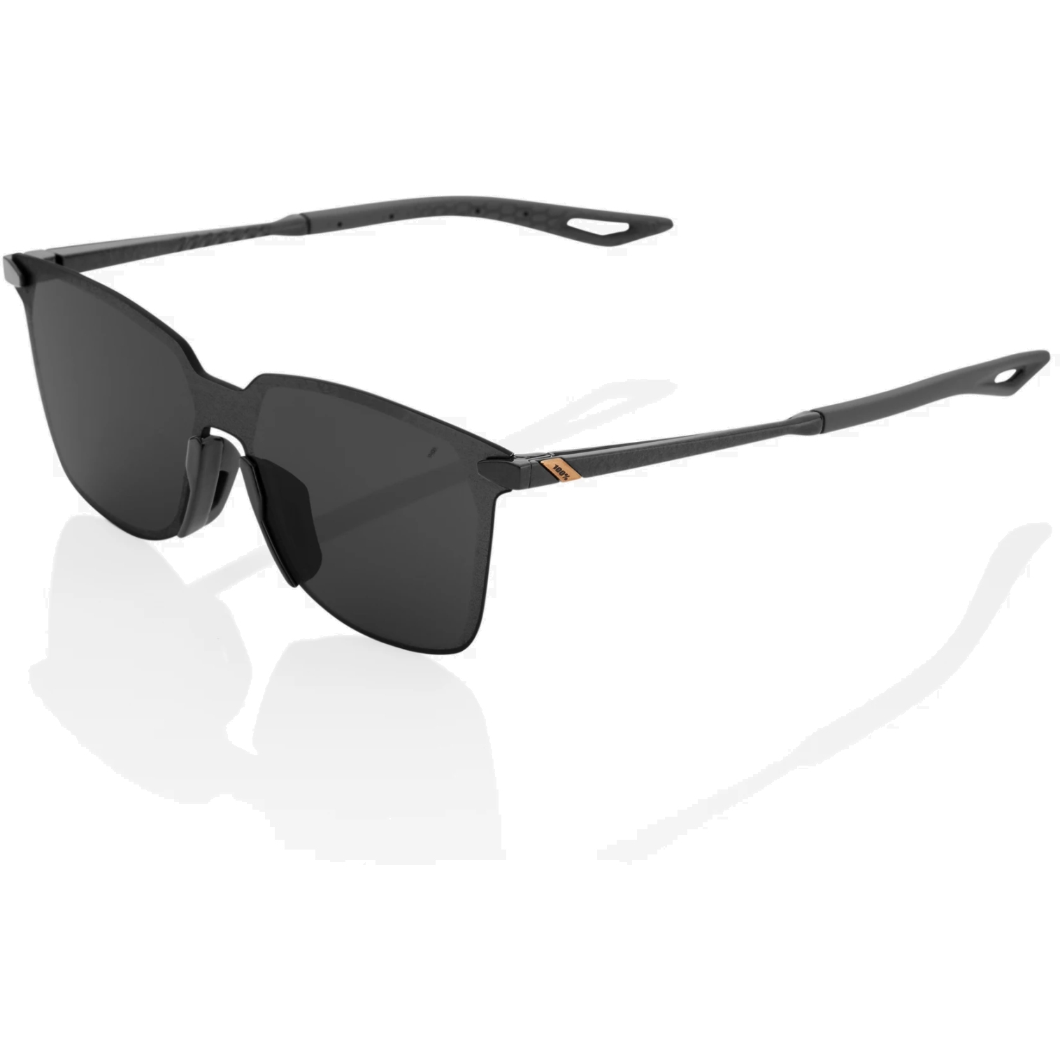 Imagen de 100% Legere UltraCarbon square Gafas - Smoke Lens - Polished Black