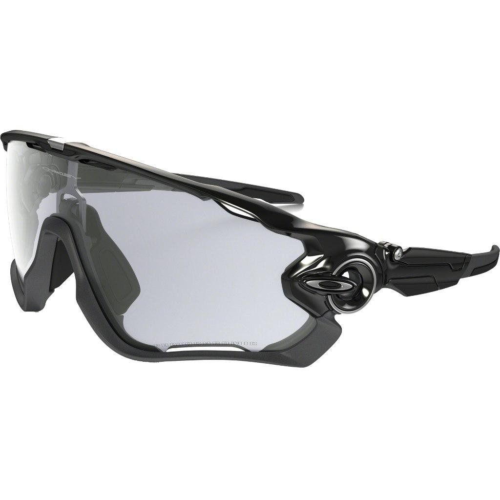 Foto de Oakley Jawbreaker™ Photocromic Polished Black/Clear Black Iridium Photocromic Activated Glasses OO9290-14