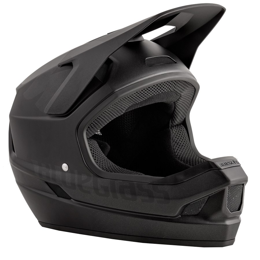 Bluegrass Legit Fullface Helmet - black texture