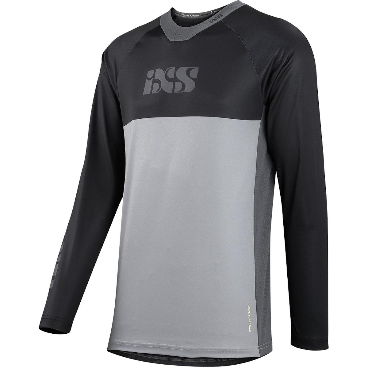 iXS Trigger X Langarmtrikot - grey/black