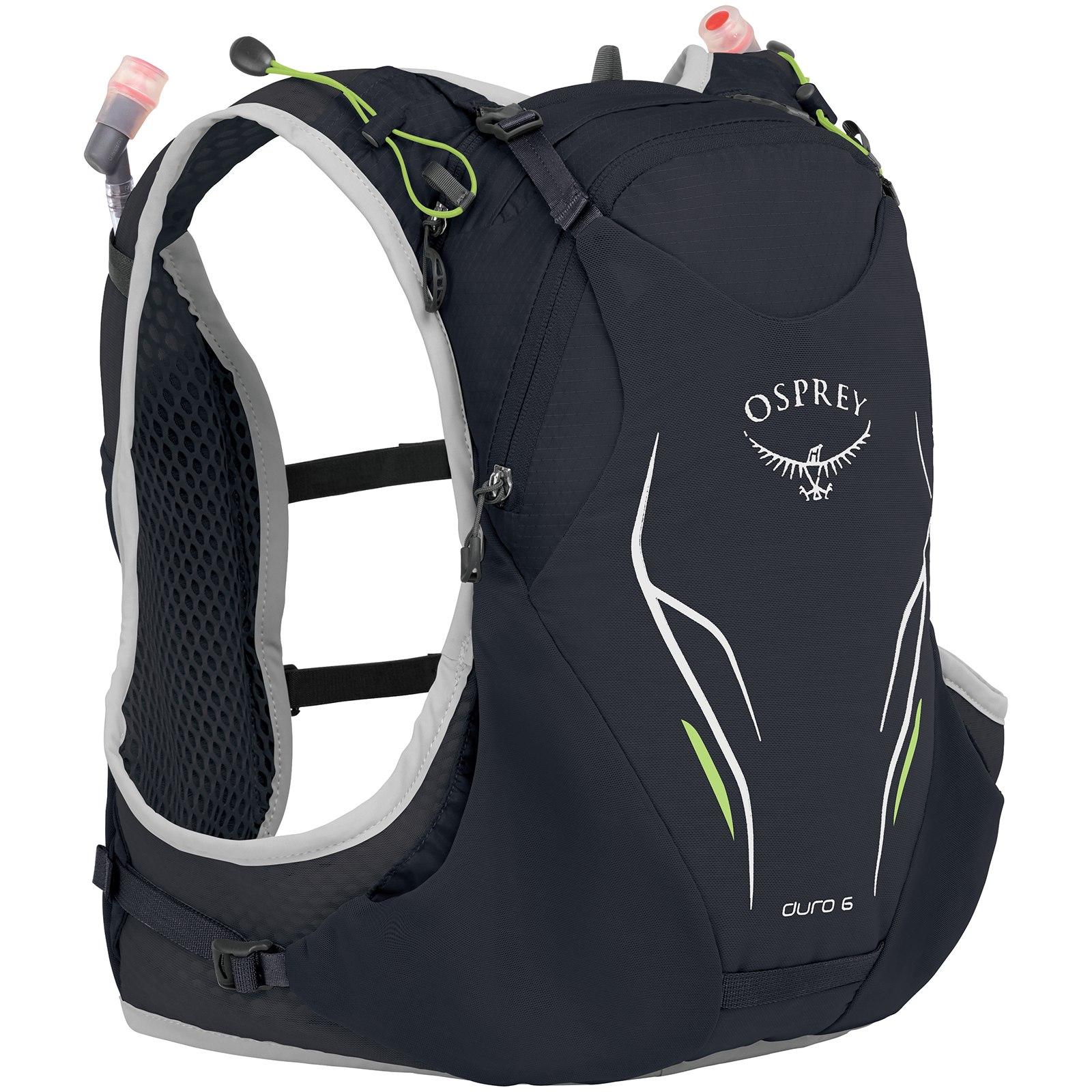 Image of Osprey Duro 6 Running Backpack - Alpine Black