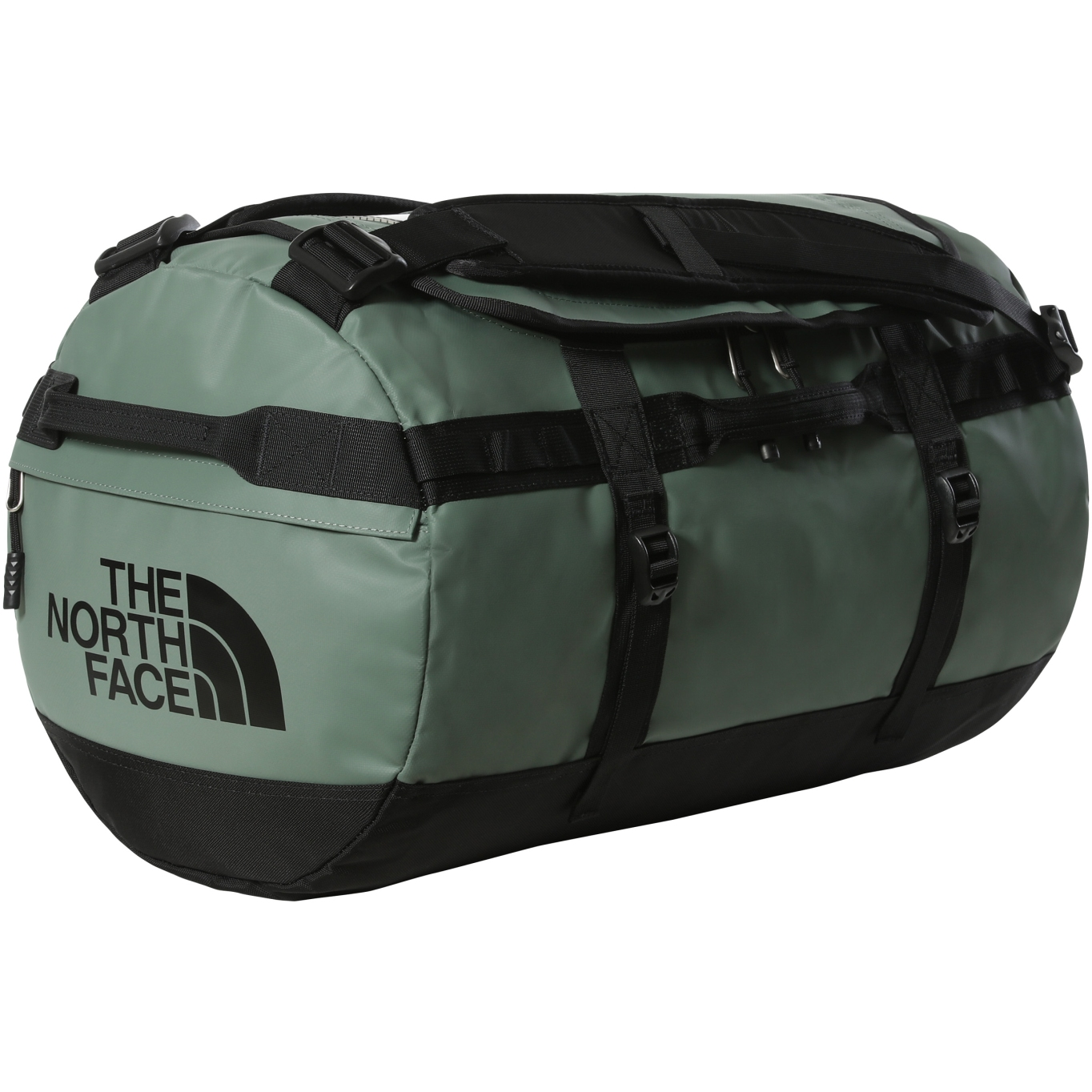 Picture of The North Face Base Camp Duffel - S - Laurel Wreath Green/TNF Black