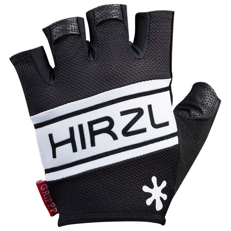Hirzl Grippp Comfort SF Short Finger Gloves Unisex - White/Black