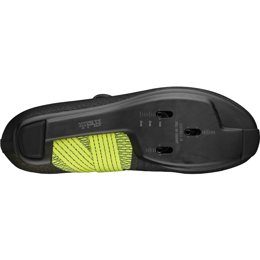 Image of Fizik Vento Stabilita Carbon Road Shoe - black/yellow