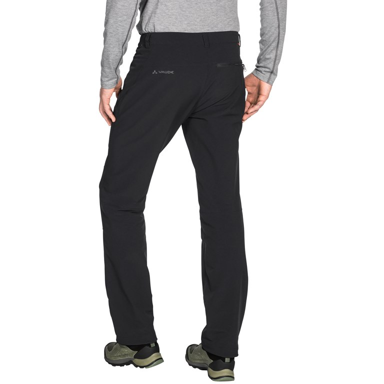 Image of Vaude Men's Strathcona Warm Pants - Regular - black uni