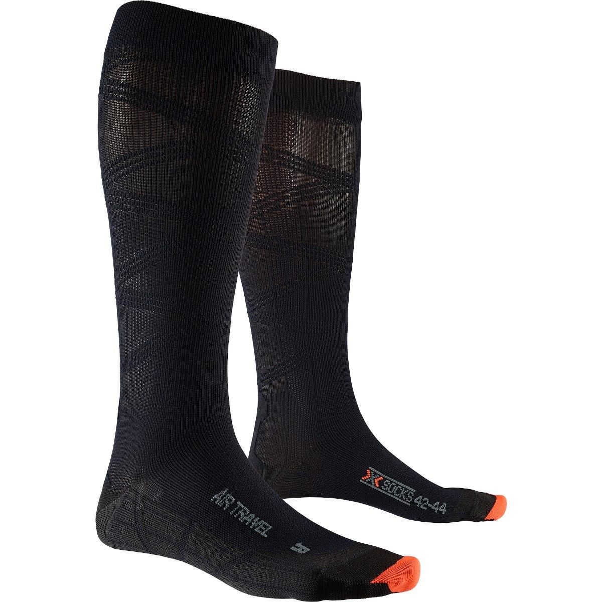 Bild von X-Socks Air Travel Helix Socken - black