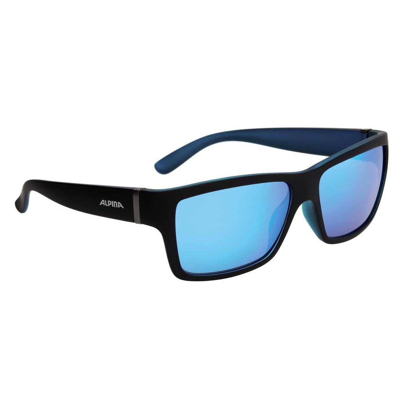 Alpina Kacey Glasses - Black Matt-Blue/CeramiC Mirror Blue