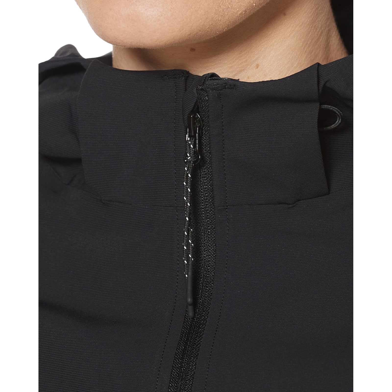 Imagen de 2XU GHST Waterproof Chaqueta para mujeres - black/gold reflective