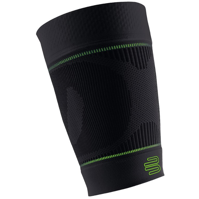 Picture of Bauerfeind Sports Compression Sleeves Upper Leg - black