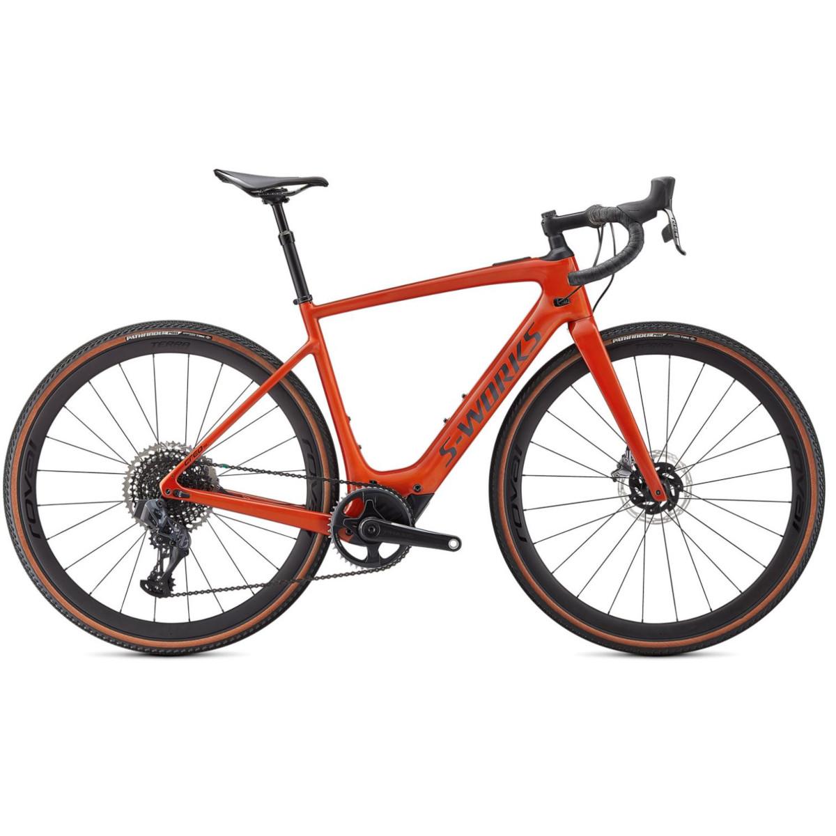 Produktbild von Specialized S-WORKS TURBO CREO SL EVO - Carbon Gravel E-Bike - 2021 - redwood / carbon