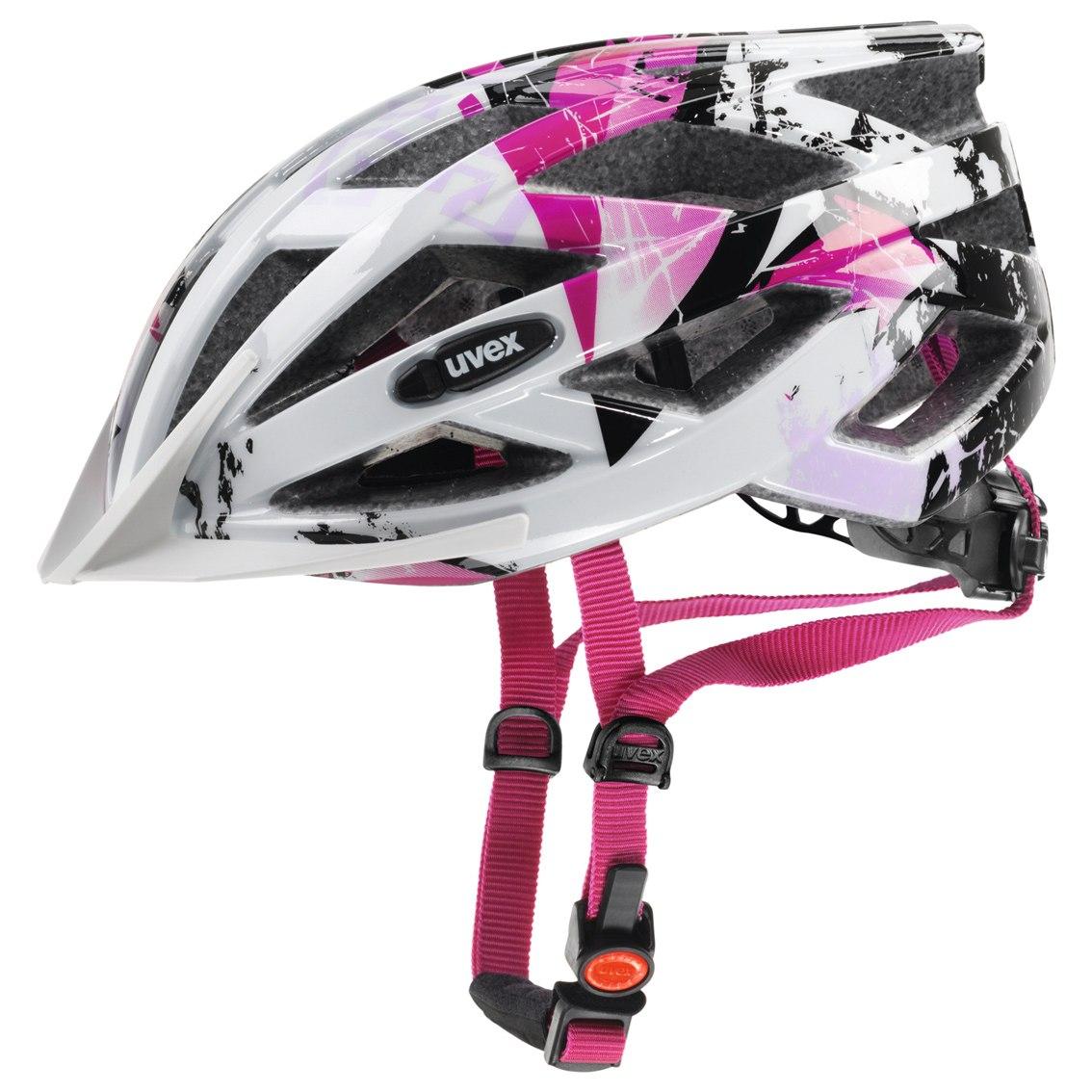 Uvex air wing Helm - white-pink