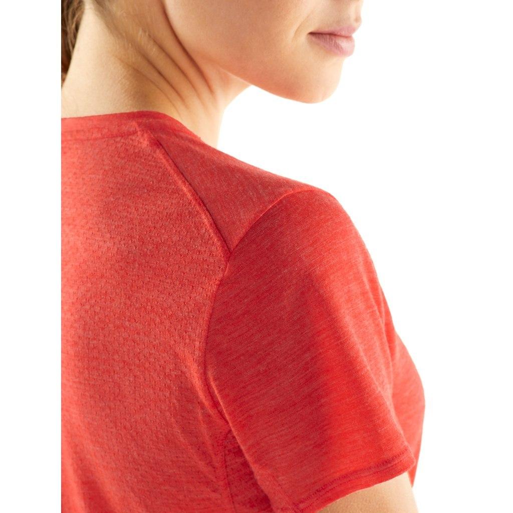 Bild von Icebreaker Amplify Low Crewe Damen T-Shirt - Fire