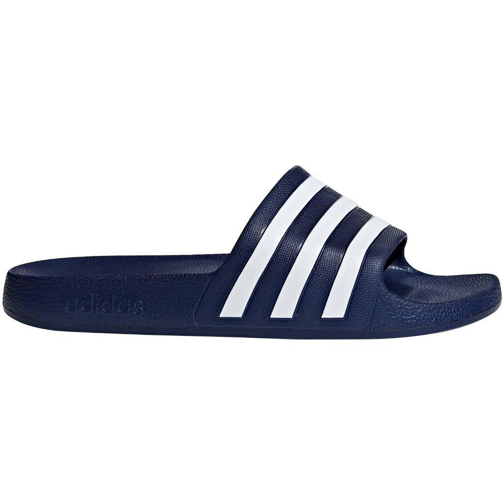 Foto de adidas Adilette Aqua Slides Bathing Shoes - dark blue/cloud white/dark blue F35542