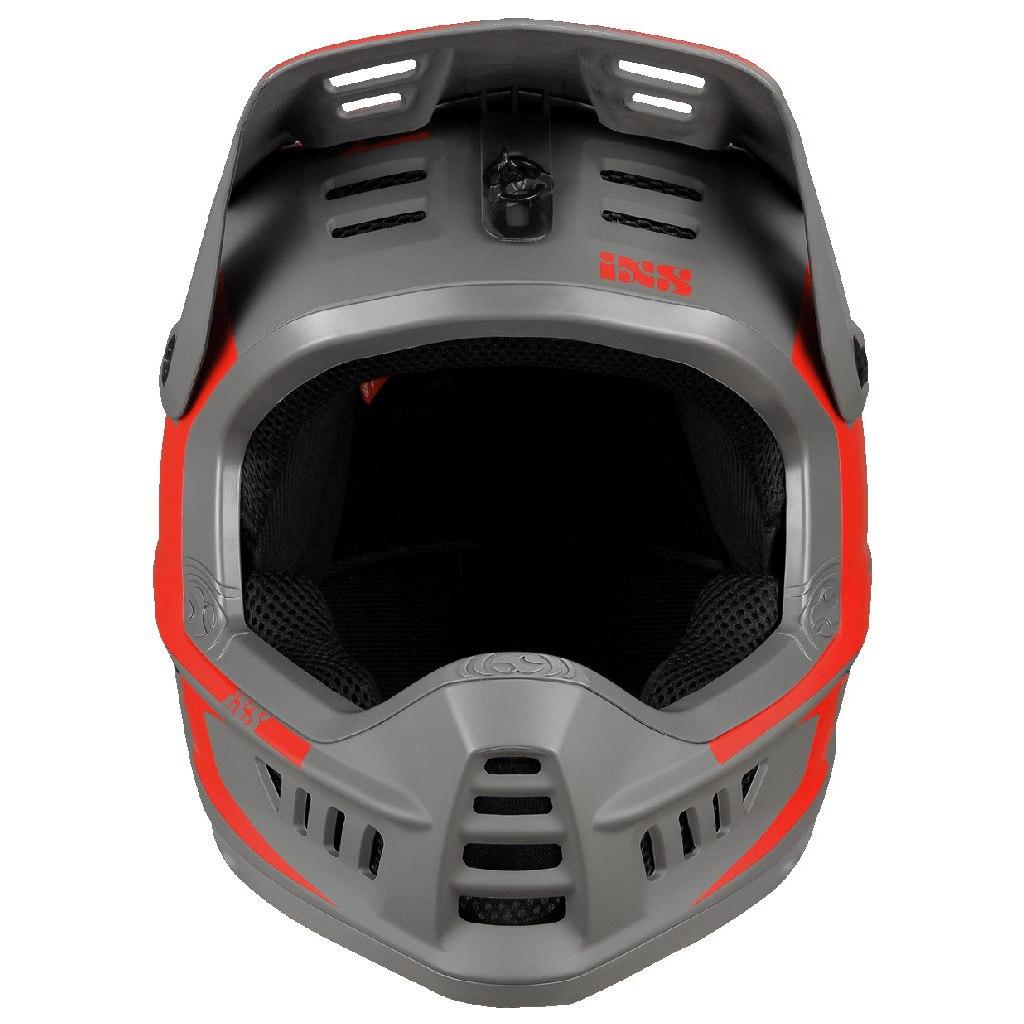Image of iXS Xact Evo Fullface Helmet - red/graphite