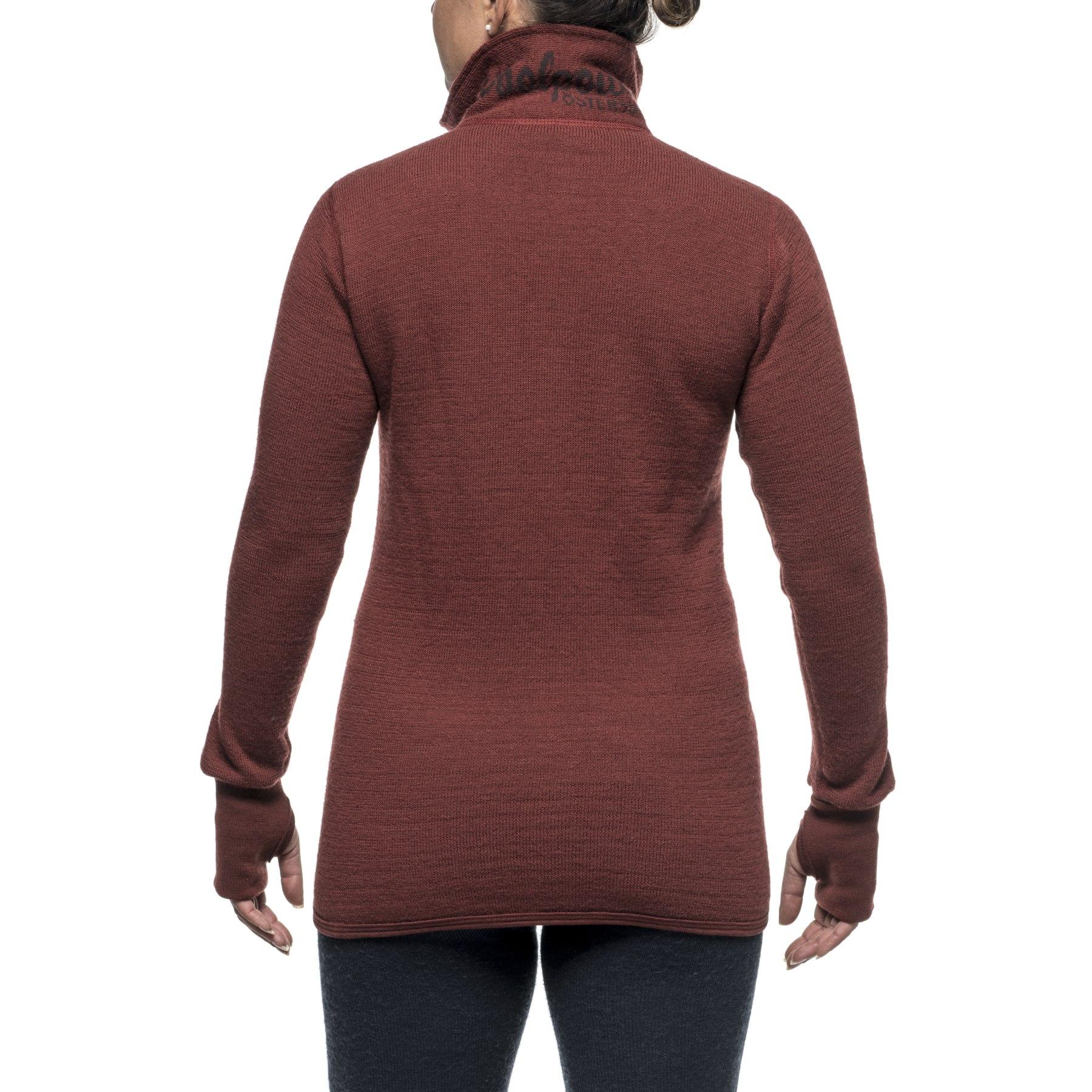 Bild von Woolpower Full Zip Thermo-Jacke 400 - rust red