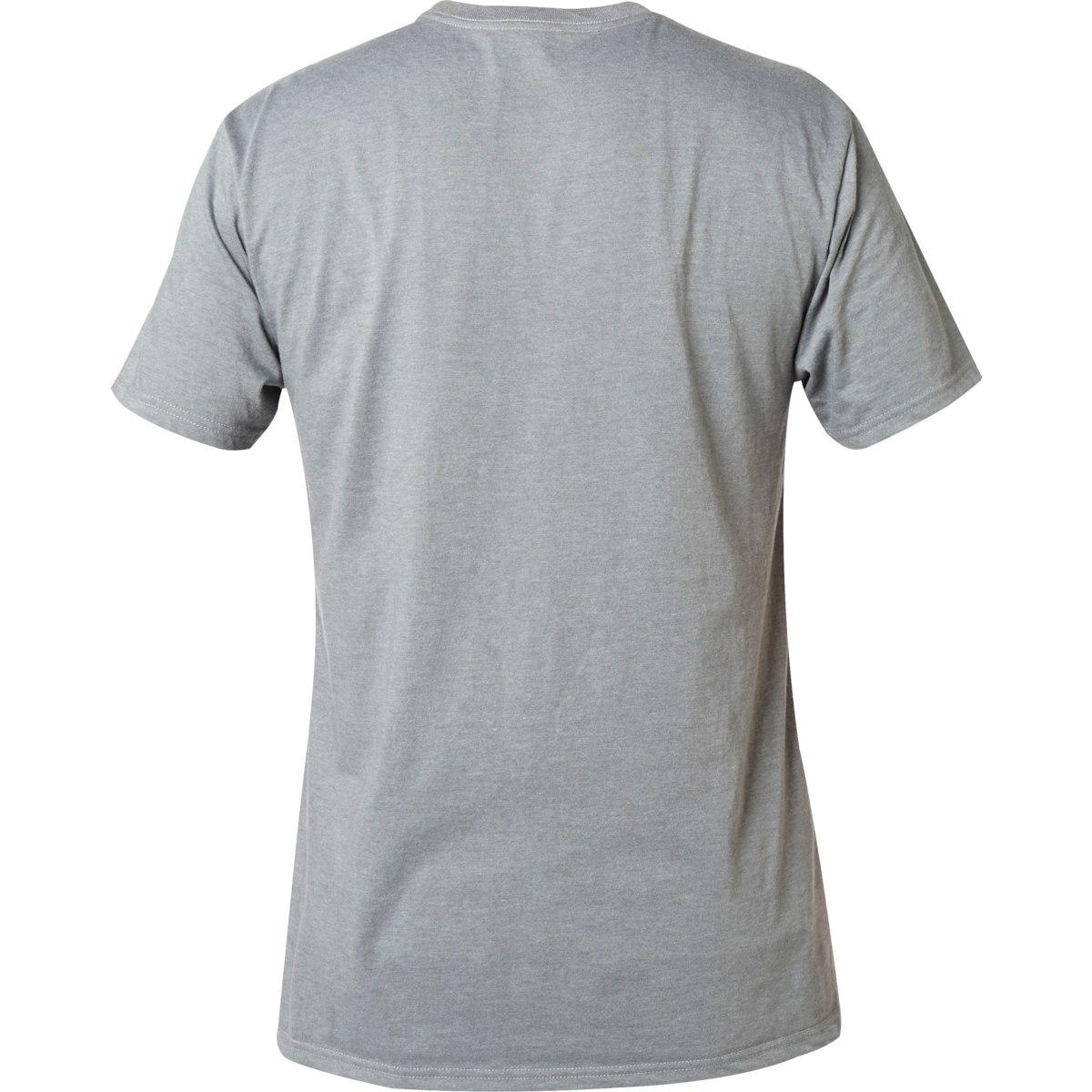 Image of Fox Legacy Moth Tee Shortsleeve Shirt - heather graphite