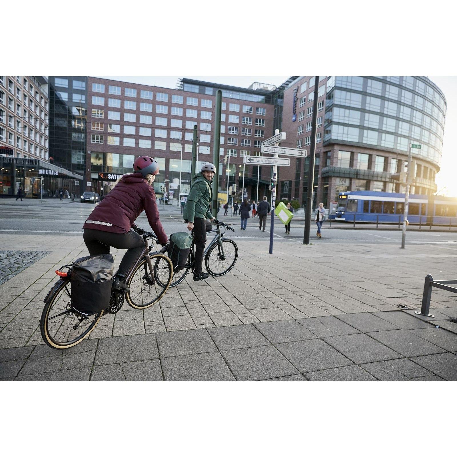 Bild von Vaude Cyclist Hybrid Damen Rad-Überhose - schwarz