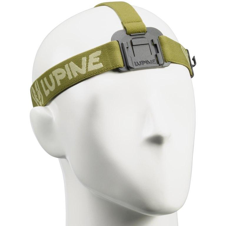 Lupine FrontClick Headband Neo / Piko / Blika - olive