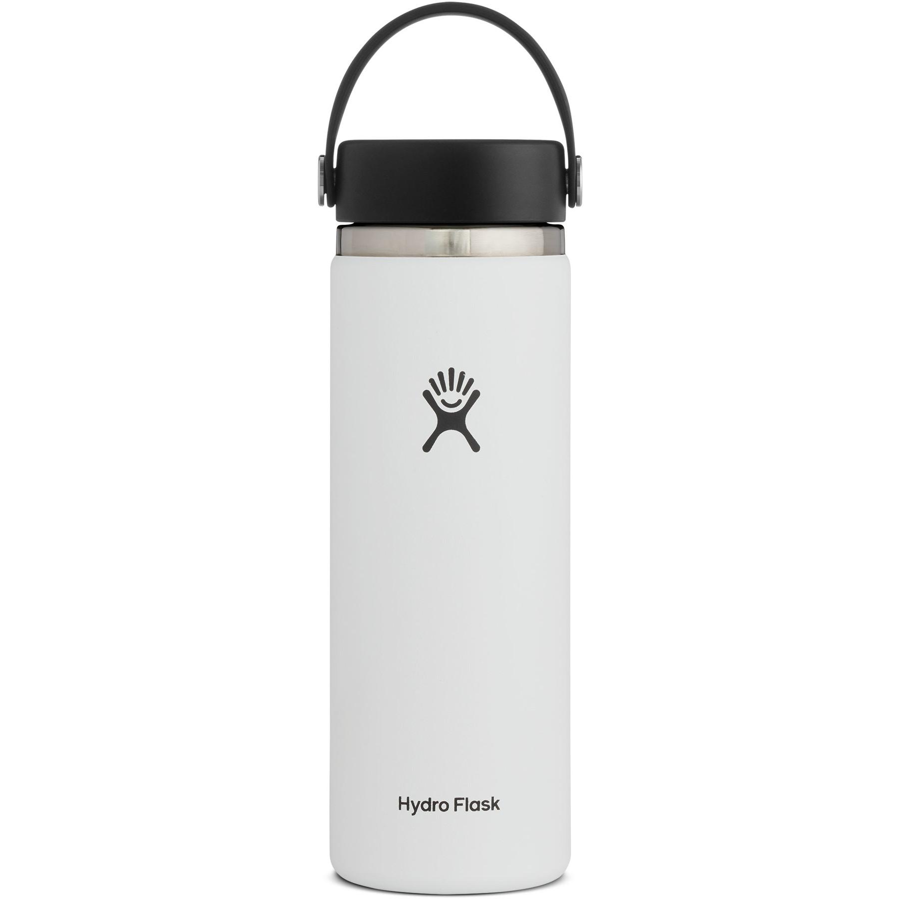 Produktbild von Hydro Flask 20oz Wide Mouth Flex Cap Thermoflasche 591ml - White