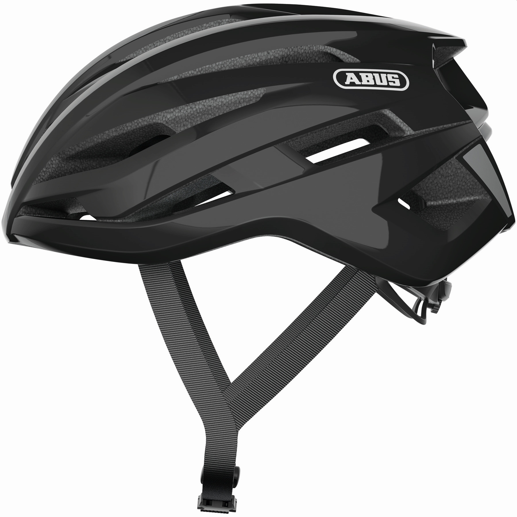 ABUS StormChaser Casco Carretera - shiny black