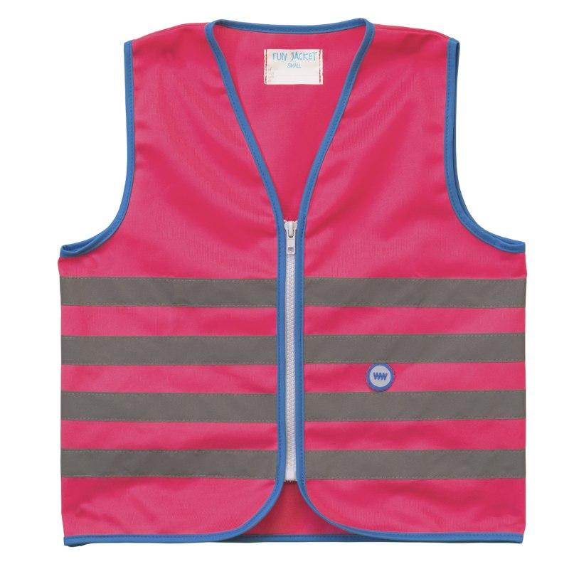 WOWOW Fun Jacket Kinder Sicherheitsweste - pink