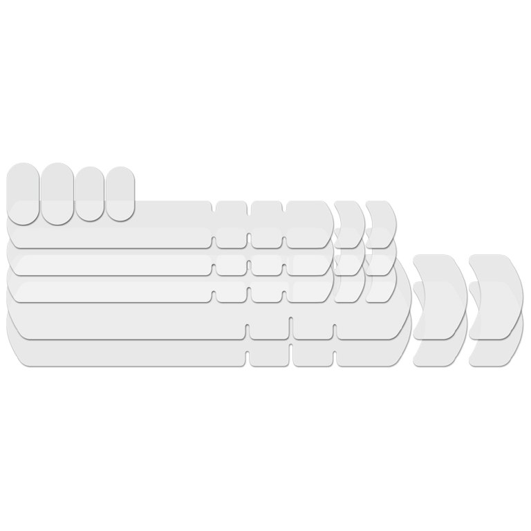 Lizard Skins Frame Kit - Clear - Rahmenschutzfolien-Set (9-teilig) - Clear glossy