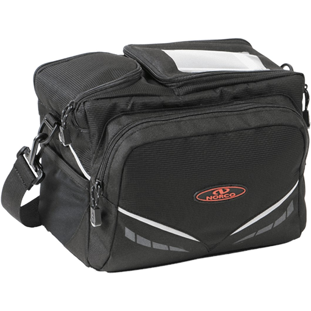 Image of Norco Kansas Handlebar Bag 0227S - black