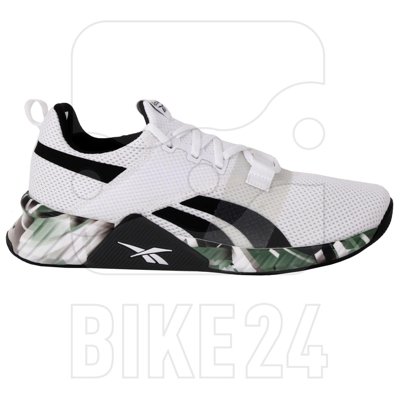 Reebok Männer Flashfilm Train 2 Schuhe - white/black/court green FW8149