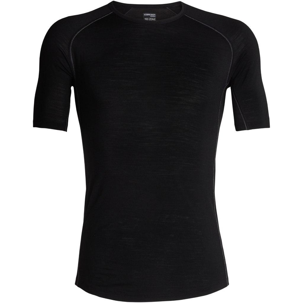 Icebreaker 150 Zone Crewe Herren T-Shirt - Black/Mineral